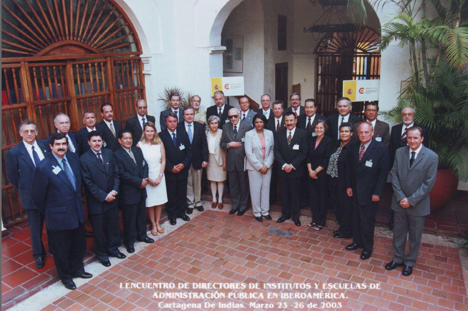 Foto de grupo: 23 de Marzo de 2003 en Cartagena de Indias (Colombia)