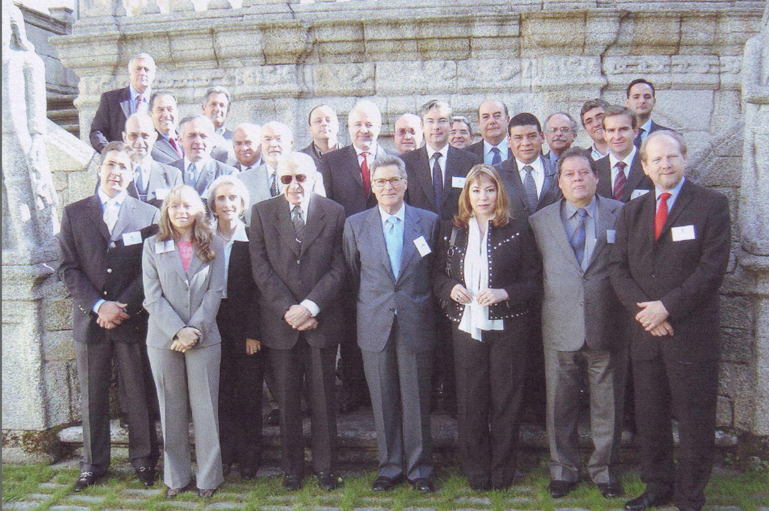 Foto de grupo: 8 de Octubre de 2004 en La Coruña (España)
