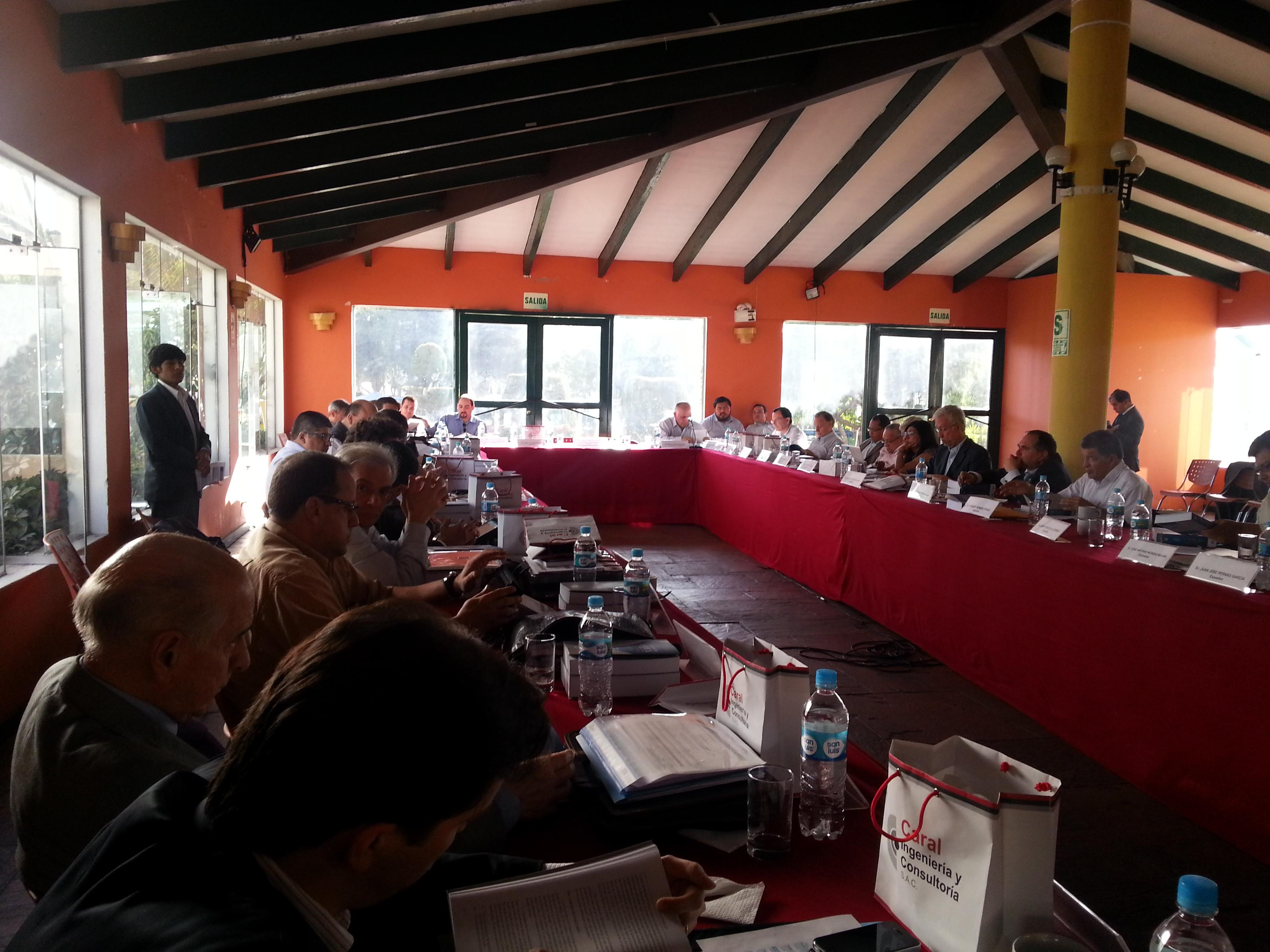 XII reunión del Foro: 28 de octubre y el 1 de noviembre en Arequipa (Perú).