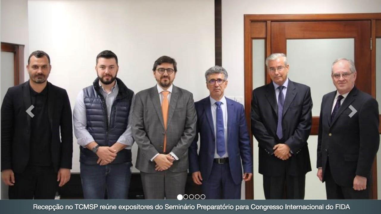 Reunión con las autoridades de Sao Paulo que patrocinarán FIDA 2019