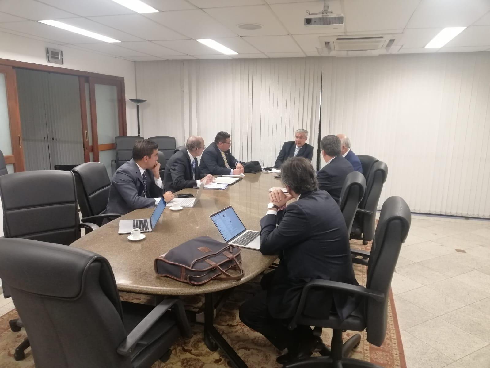 Reunión del Consejo Directivo de Fida en Sao Paulo